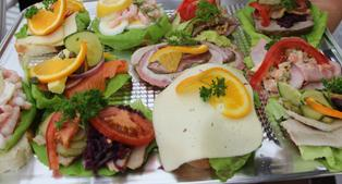Danish open-faced sandwiches