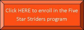 Striders Enrollment Page