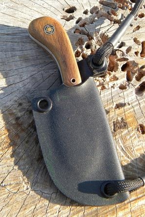 How to make a mini neck knife with Kydex Sheath. FREE step by step instructions. www.DIYeasycrafts.com