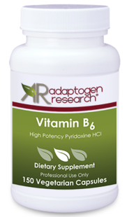 Adaptogen Research, Vitamin B6 - 150 Caps