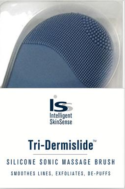 Tri-Dermislide. Silicone Sonic Massage Brush