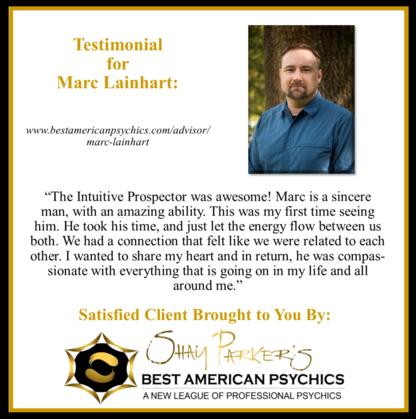 Marc Lainhart - The intuitive Prospector™ - Online