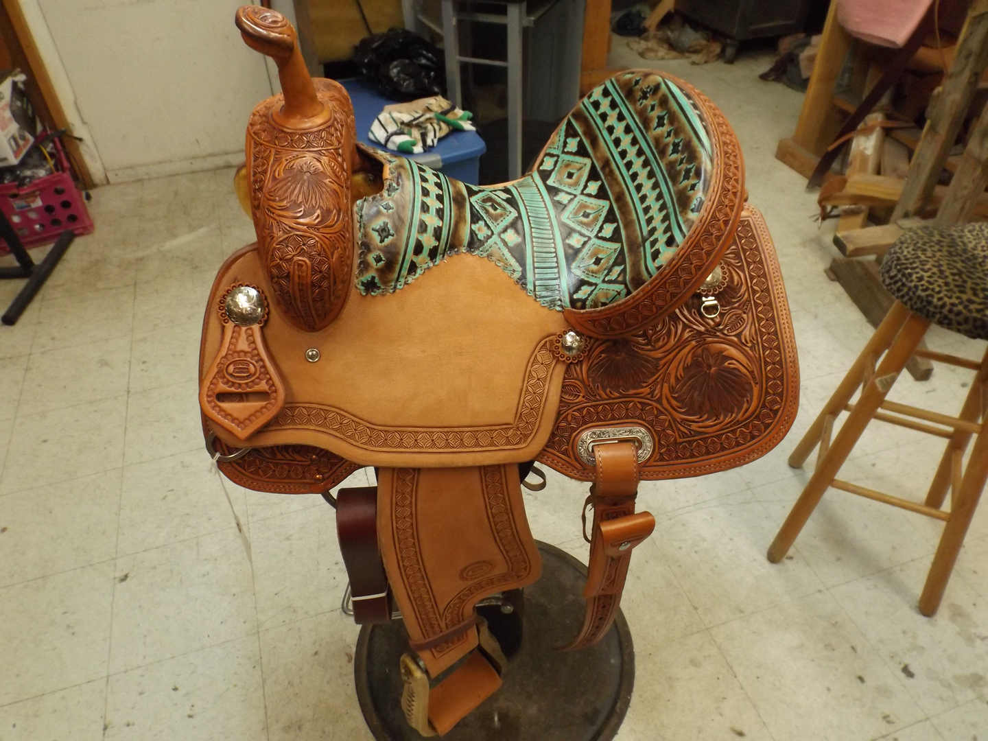 Mike's Custom Saddle Shop - Barrel Saddles, Western Saddles