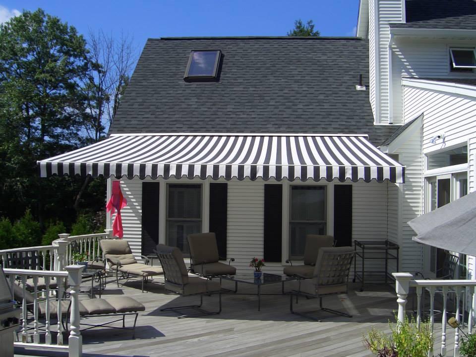 deck awnings long island free estimate aluminum retractable