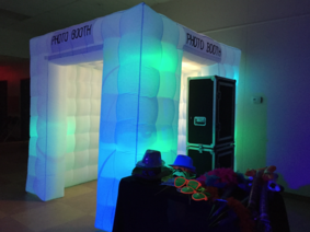 Ventura Photo Booth Rental with Enclosure