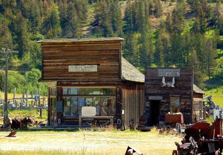 Ghost Town Of Old Molson Okanogan County Washington