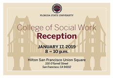 FSU School of Social Work Reception in San Francisco
