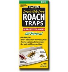 Harris Roach Traps with lure