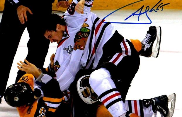 Andrew Shaw 2013 Stanley Cup Fight