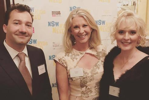 Kate Branch and Jean Claude Branch with Tracey Spicer