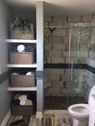 fort myers transitional bathroom remodel