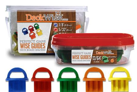 Wise Guides Deck Board Gap Spacers