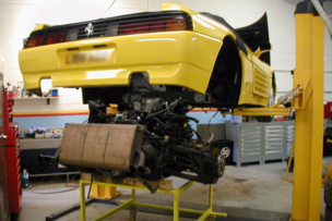 Ferrari servicing, garage sw france, ferrari 348, classic cars