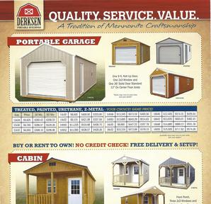 Portable Buildings in Lafayette Louisiana - Rent to Own No Credit