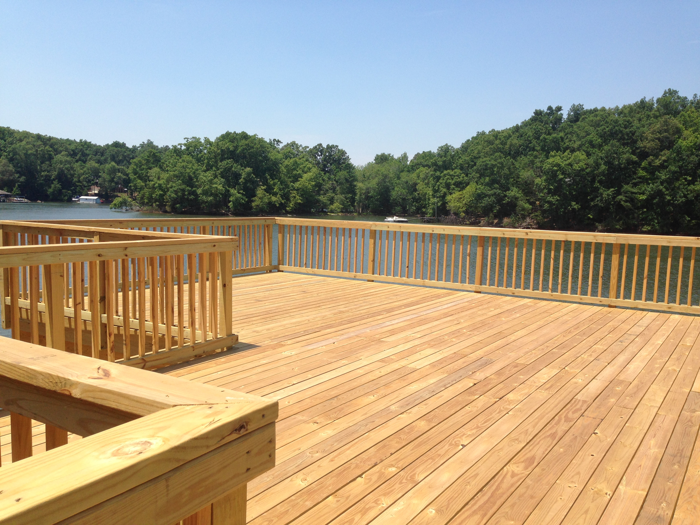 Waterjack marine construction your lake wylie dock builder pressure treated wood docks baanklon Image collections