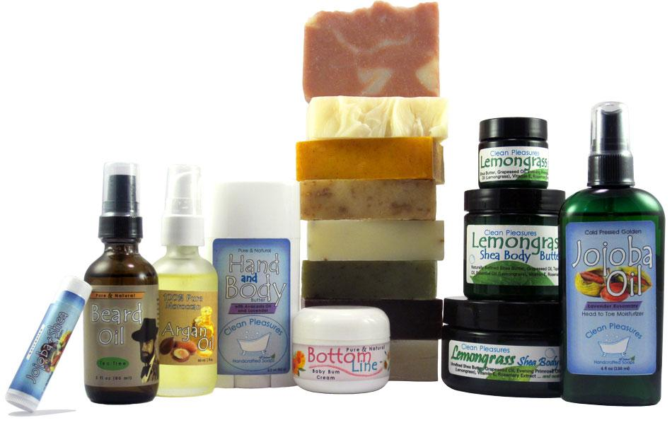 Clean Pleasures Product Line
