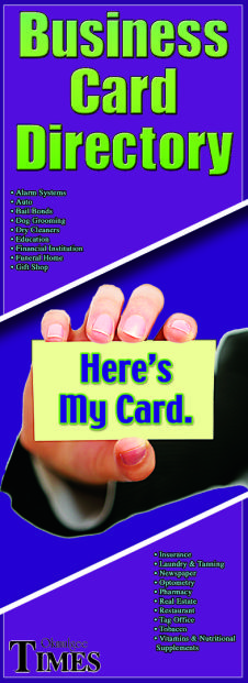 2014 business card directory okmulgee county news source reheart Images