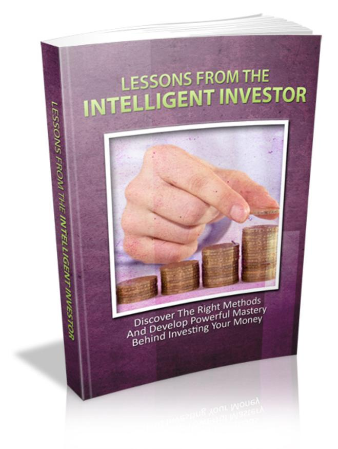Lessons of the Intelligent Investor
