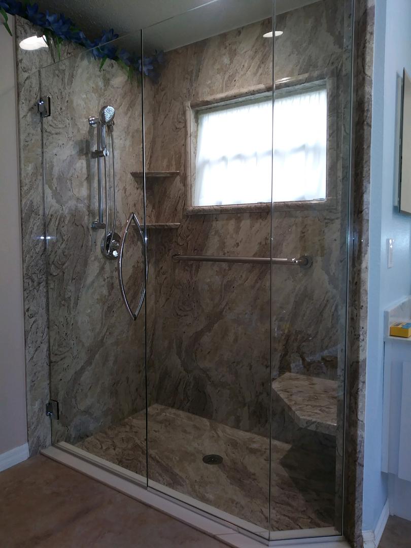 Frameless Shower Doors In Spring Hill Florida Free Estimates