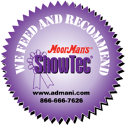 We feed and recommend MoorMan's ShowTec