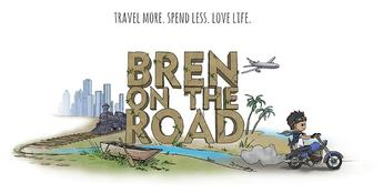 image logo of bren on the road blogger site
