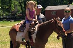 Young Children Horse Riding Lessons