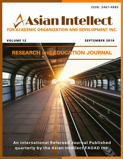Research and Education Journal Vol 12