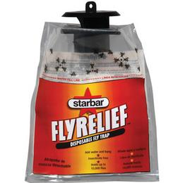 FlyRelief Trap catches fly in a disposable bag