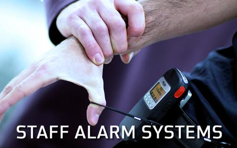 Atus Systems staff alarms and staff protection