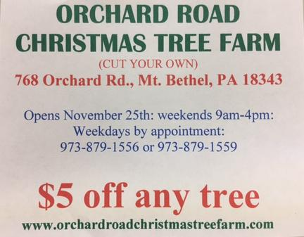 Orchard Road Christmas Tree Farm