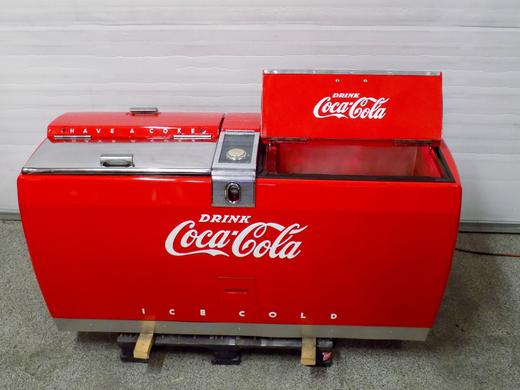 Coca-Cola Westinghouse WE10 Wet Chest Cooler antique soda machine