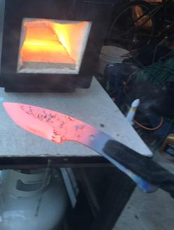 DIY How to heat treat a knife. www.DIYeasycrafts.com