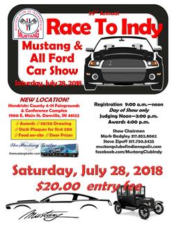 Mustang Club of Indianapolis 2017 Car Show