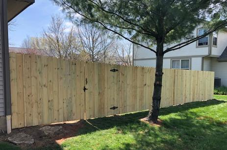 fence repair Hilliard Ohio