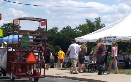 Pickle Festival, Town of St. Joe, Indiana
