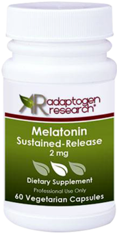 Adaptogen Research, Melatonin Sustained Release 2 mg