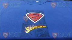 Remera Superman Niño 3d