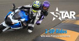 2-up rides with Jason Pridmore