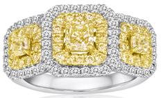 diamond ring yellow fashion la quinta jewelry