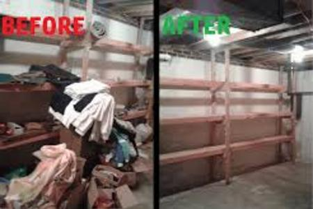 Basement Cleanout Service Cellar Cleanouts Junk Removal in Las Vegas NV | McCarran Handyman Services
