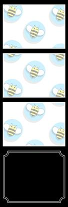 Bumblebee Booths Photo Strip sample #5