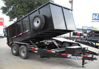 7 X 14 AND 7 X 16 DUMP TRAILERS