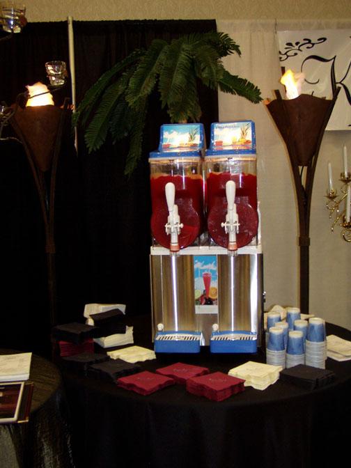 Kansas rental inc wedding reception supplies wedding reception frozen drink machines chairs wedding supplies junglespirit Image collections