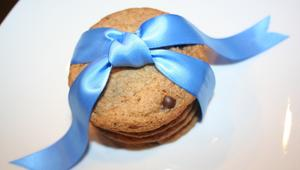 Gluten free cookies sold at Kid-doughs Treats bakery in Miami, FL.