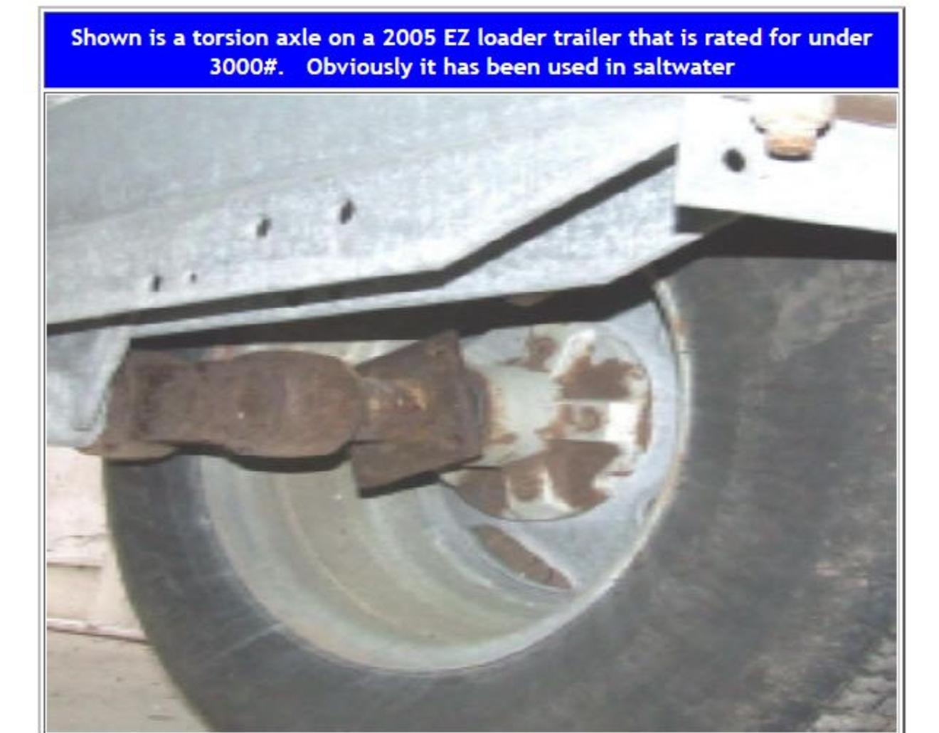 Boat Trailer Bearing Brake Repairs The Truth Of Total Crap Ez Load Wire Connector Diagram Now For Some How To Do It Information