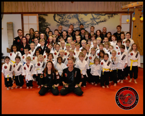 Phoenix Dragon Martial Arts Students