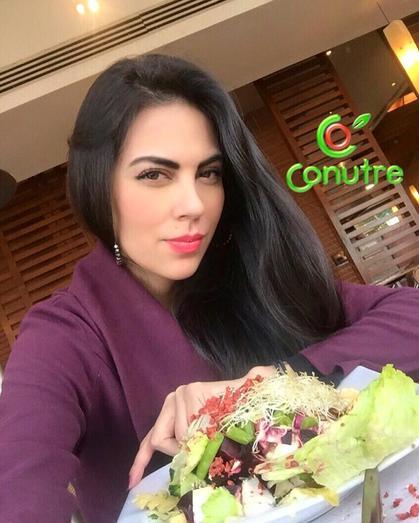 Nutriologa Zaria Espinosa