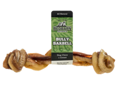 Bully Barbell non-rawhide treats for dogs
