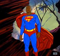 Bobby Henderson as SUPERMAN by Cliff Carson