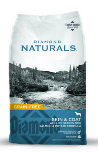 Diamond Natural with Salmon and Potato Skin and Coat Dog Food